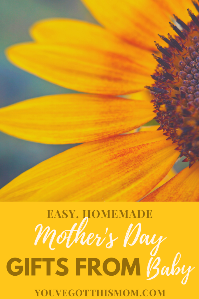 easy homemade mother's day gift ideas from baby