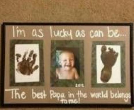 grandpa gift from baby