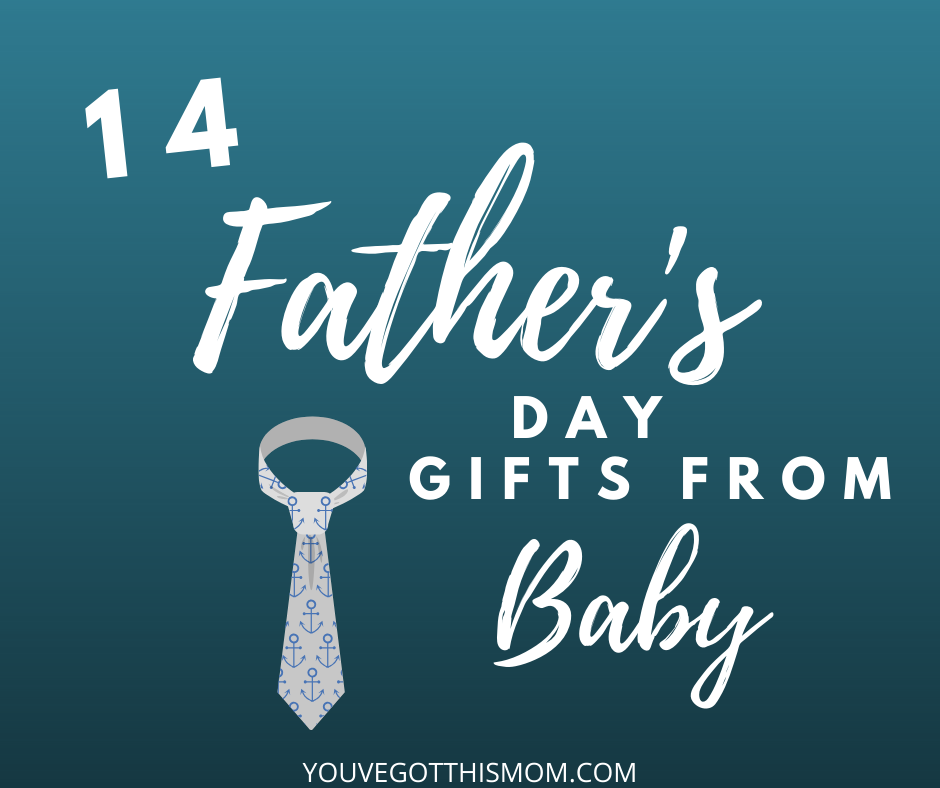 diy first fathers day gifts from baby
