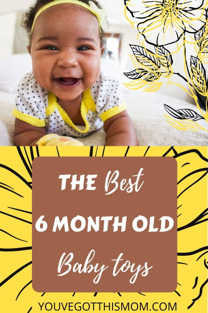 6 month old baby toys
