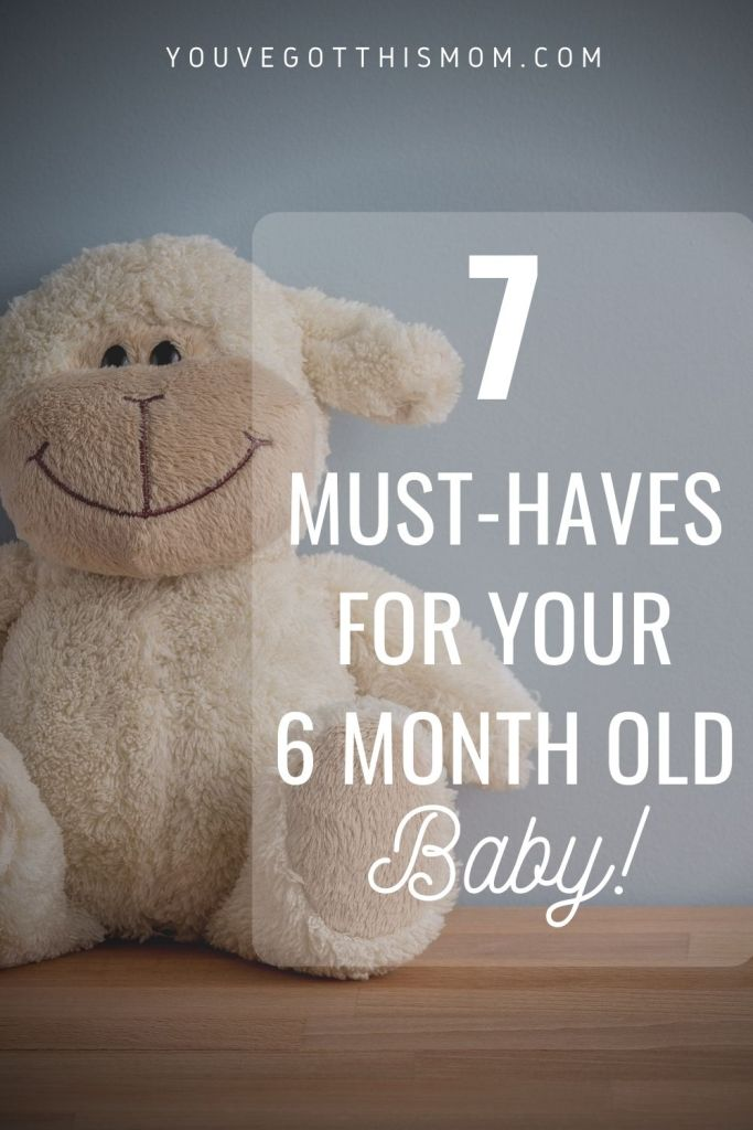 6 month baby items