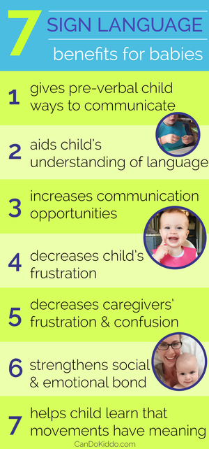 Baby Sign language benefits
